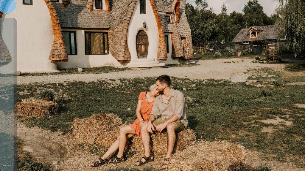 Domy z gliny surowej